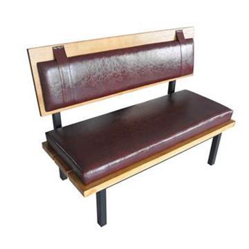 火锅店双人沙发