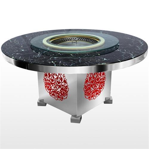 不锈钢火锅桌