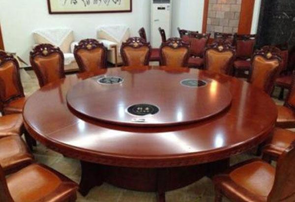 火锅店休闲实木桌椅