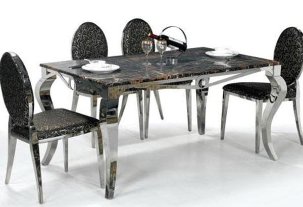 鹰潭不锈钢火锅桌椅